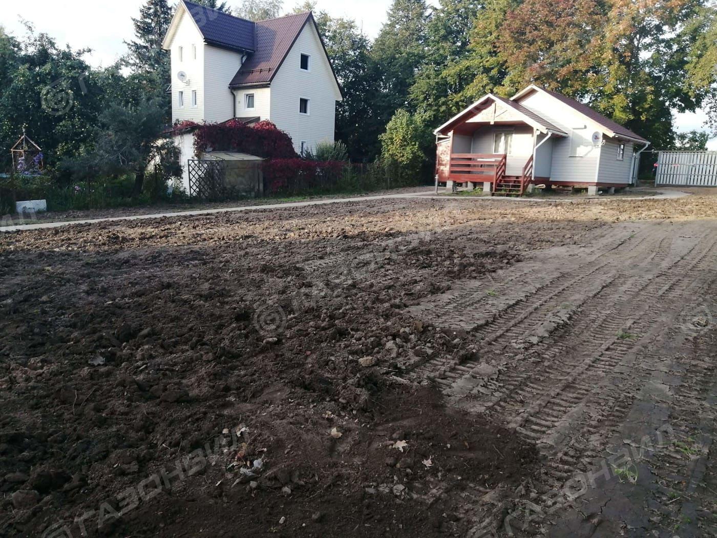 Подготовка почвы под газон в Видном слайдер 5