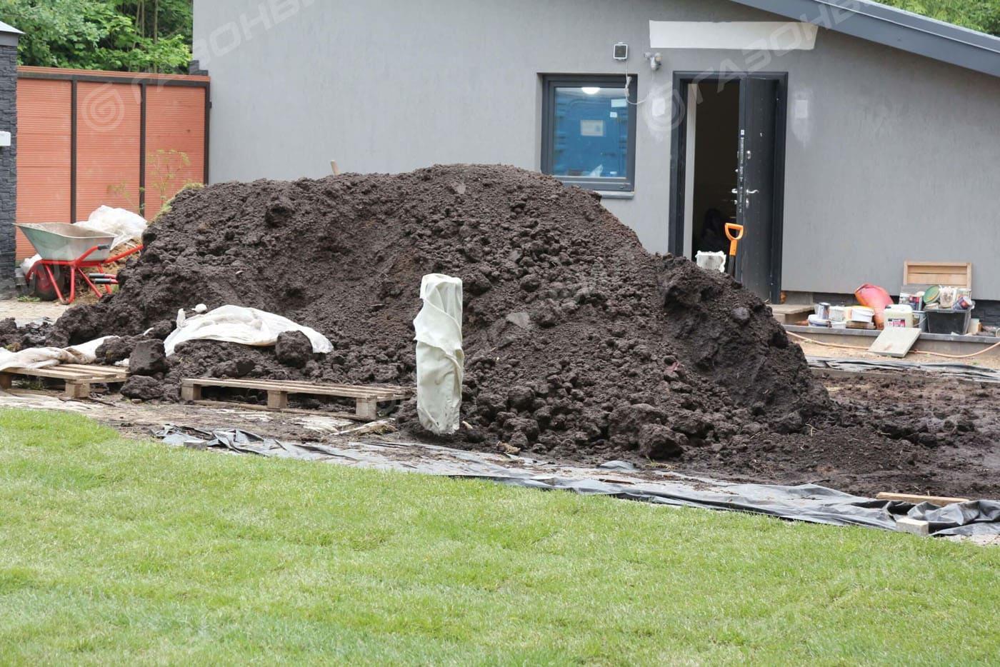 Подготовка почвы под газон в Истре слайдер 5
