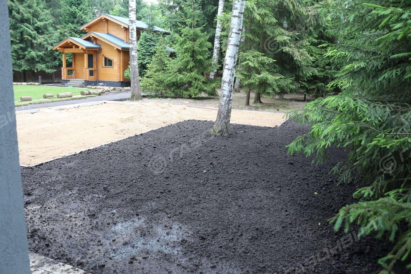 Подготовка почвы под газон в Истре слайдер 1