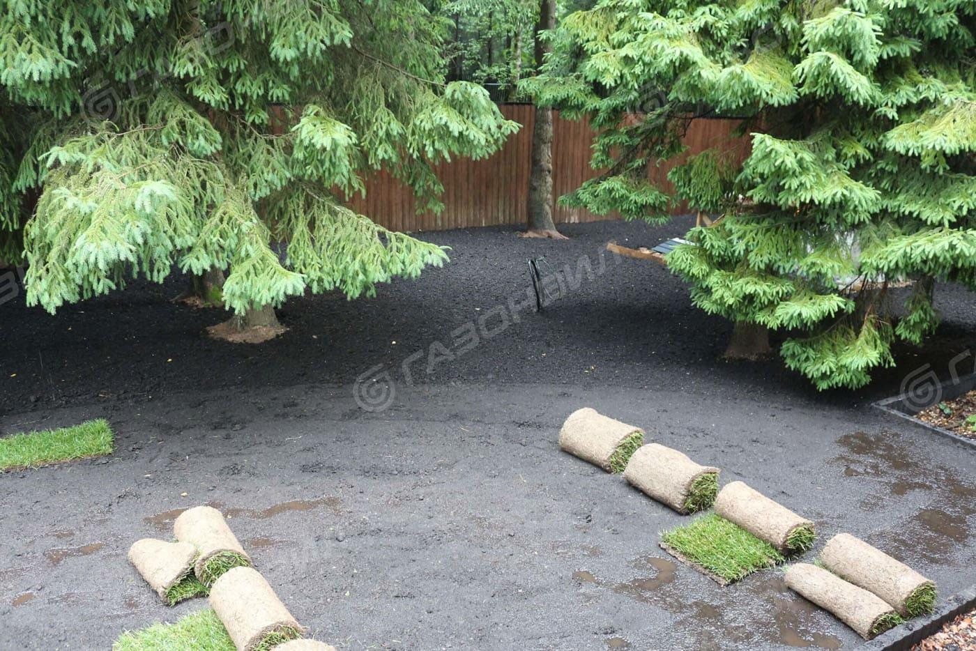 Подготовка почвы под газон в Истре слайдер 3