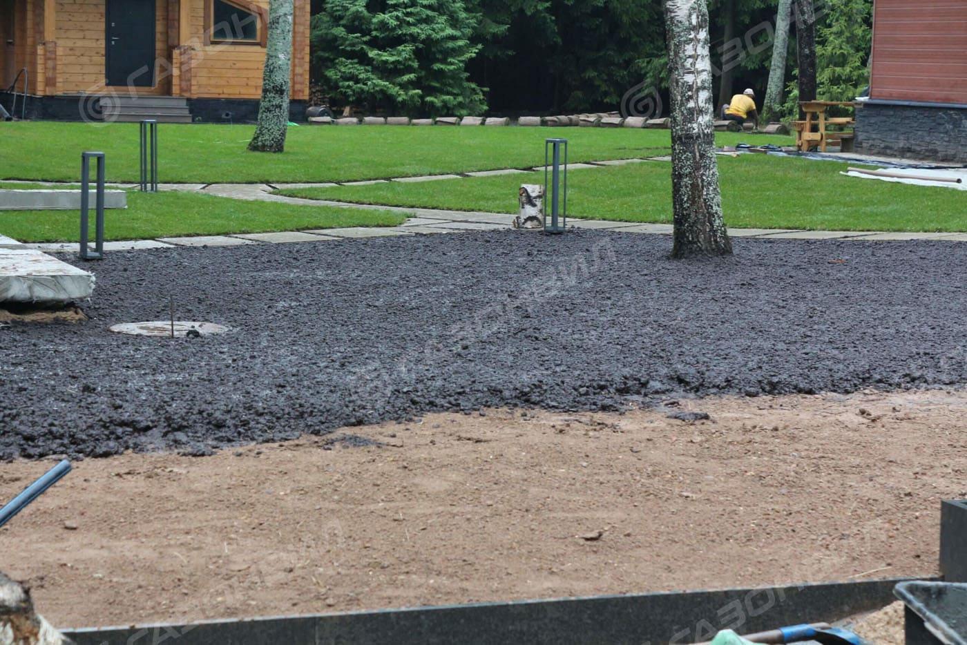 Подготовка почвы под газон в Истре слайдер 6