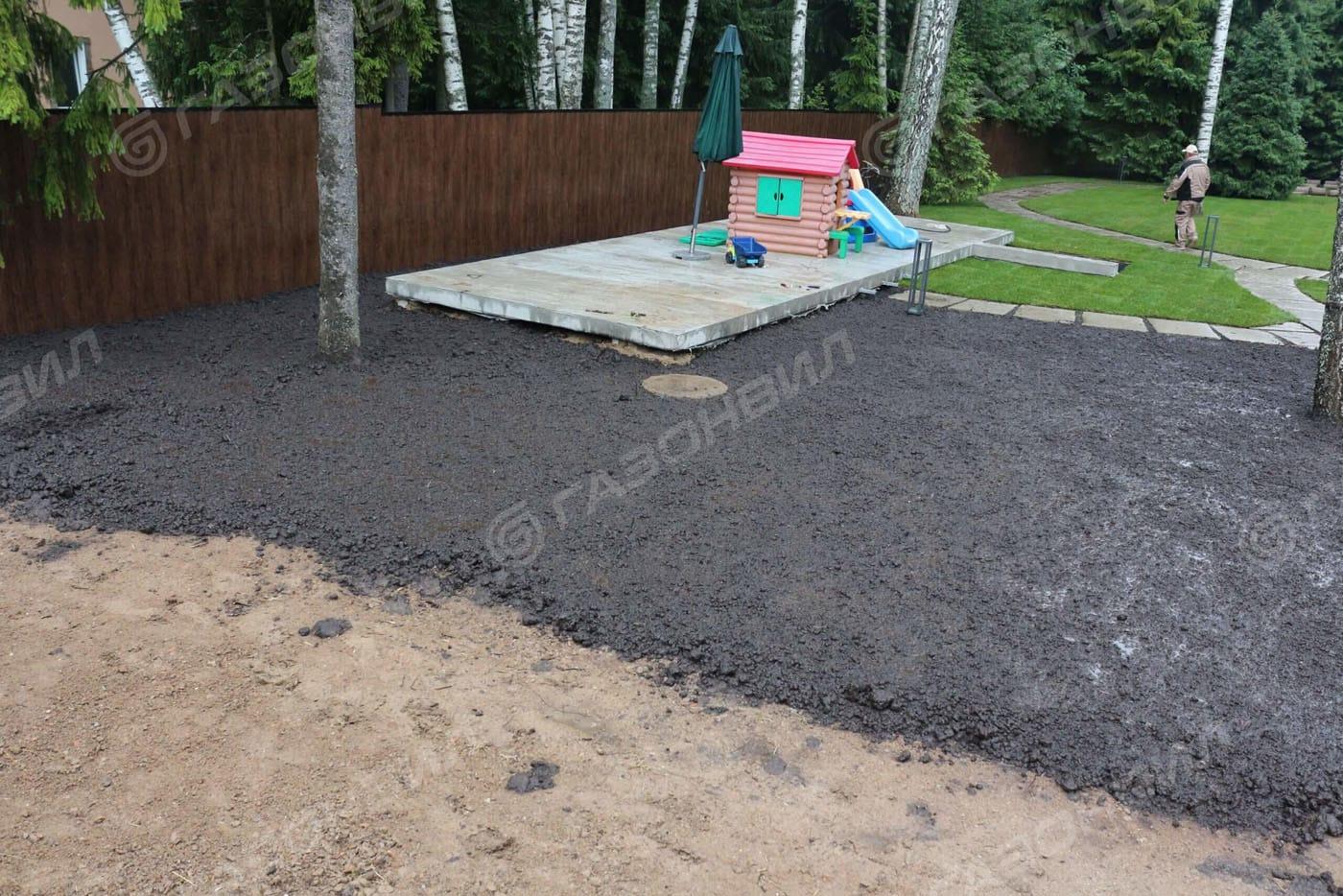 Подготовка почвы под газон в Истре слайдер 4